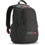 "Case logic DLBP114G Notebook Sporty Backpack/ For 14""/ Polyester/ Grey/ F"