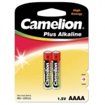 Camelion Plus Alkaline LR61-BP2 AAAA, 1,5 Volt, 2-pack (for toys, remote