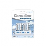 Camelion AlwaysReady Rechargeable Batteries Ni-MH (NH-AA2300ARBP4) R06 AA