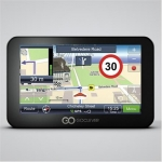 Goclever Navio 400 Slim Car Navigator with Full Europe Maps for 42 Countr