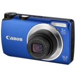 Canon PowerShot A3300 Blue, 16.0 Mpixel/ 5x optical zoom/ 28mm wide/ 3.0""