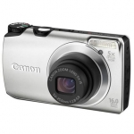Canon PowerShot A3300 Silver, 16.0 Mpixel/ 5x optical zoom/ 28mm wide/ 3.