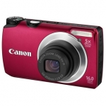 Canon PowerShot A3300 Red, 16.0 Mpixel/ 5x optical zoom/ 28mm wide/ 3.0""