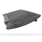 AAB Notebook coolerpad with  180mm fan on USB,
