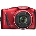 Canon PowerShot SX150 IS Red, 14.1 Mpixel/ 12x optical zoom/ wide-angle (