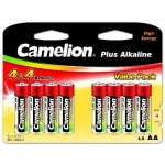 Camelion Plus Alkaline AA (LR06), 8 (4+4) value pack