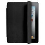 Apple iPad 2 Smart Cover - Leather - Black