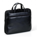 "Tucano STILE WORK OUT Real Leather Computer case for 15.4"" (Black) / Inte"