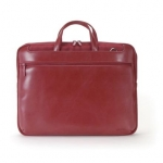 "Tucano STILE WORK OUT Computer case for 14"" (Red) / Real Leather / For 34"