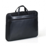 "Tucano STILE WORK OUT Computer case for 14"" (Black) / Real Leather / For"