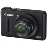 Canon PowerShot S100 Black / 12.1 Mpixel/ 5x optical zoom/ ultra wide (24