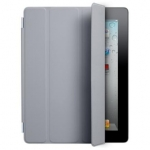 Apple iPad 2 Smart Cover - Polyurethane - Dark Grey