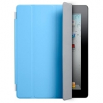 Apple iPad 2 Smart Cover - Polyurethane - Blue v2