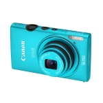 Canon Digital IXUS 125 HS Blue, 16.1Mpixel/ 24mm wide/ 5x optical zoom/ I