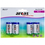 Camelion Arcas Super Heavy Duty C size (LR14), 4-pack