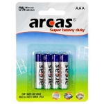 Camelion Arcas Super Heavy Duty AAA (LR03), 4- pack