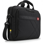 "Case logic DLC117 Laptop Briefcase for 17.3""/ Nylon/ Black/ For (41.7 x 4"