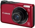 Canon CAMERA 14MP 4X ZOOM A2200/RED POWERSHOT 4944B001