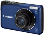 Canon CAMERA 14MP 4X ZOOM A2200/BLUE POWERSHOT 4942B001