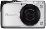 Canon CAMERA 14MP 4X ZOOM A2200/SILV. POWERSHOT 4941B001