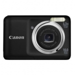 Canon CAMERA 10MP 3.3X ZOOM A800/BLACK POWERSHOT 5030B001