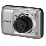 Canon CAMERA 10MP 3.3X ZOOM A800/SILVER POWERSHOT 5027B001