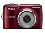 Nikon CAMERA 10MP 5X ZOOM COOLPIX/L23 RED VMA752E1 4GB