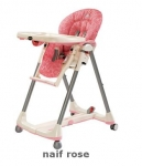 Pegperego Highchair P.Pappa Diner Naif Rose