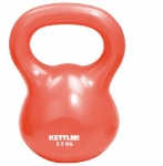 Kettler 7370-064 Kettle Ball 2.5 kg red