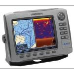 "Lowrance HDS-8 no transducer - 8"" combination chartplotter/fishfinder with worldwide background map, no transducer"