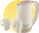 Scarlett SC-021 BIEGE(new)Travel kettle
